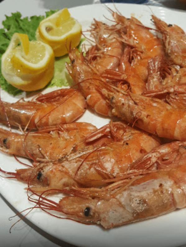Langostinos restaurante el Cortes