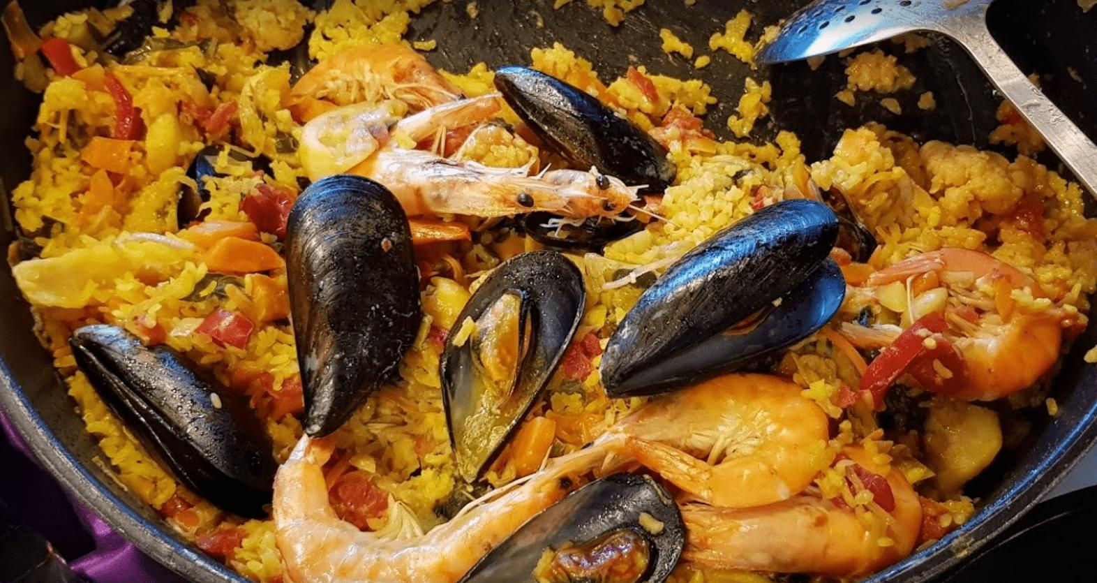 Paella restaurante el Cortes